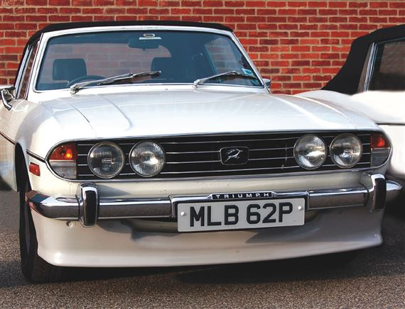 Triumph Stag Front Spoilers