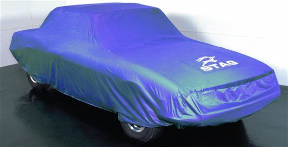 Triumph Stag Indoor Tailored Car Cover - Blue