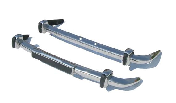 Stainless Steel Bumper Set - Front & Rear - Stag Mk1 - RS1625