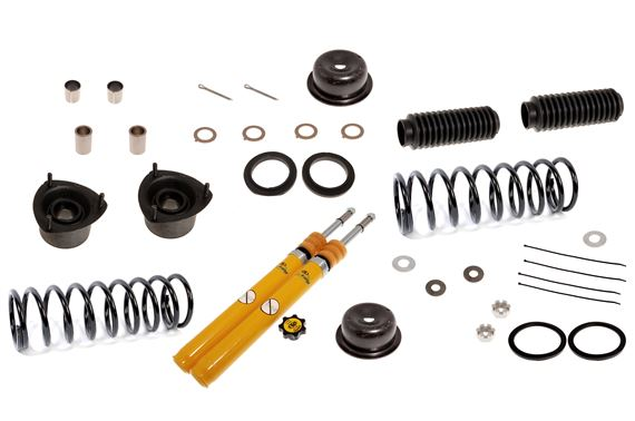 Front Suspension Leg Overhaul Kit with Spax Inserts