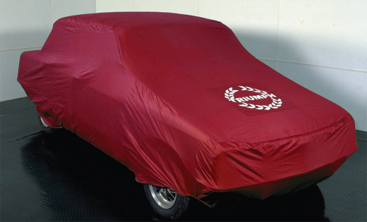 Triumph Dolomite & Sprint Indoor Tailored Car Cover - Red