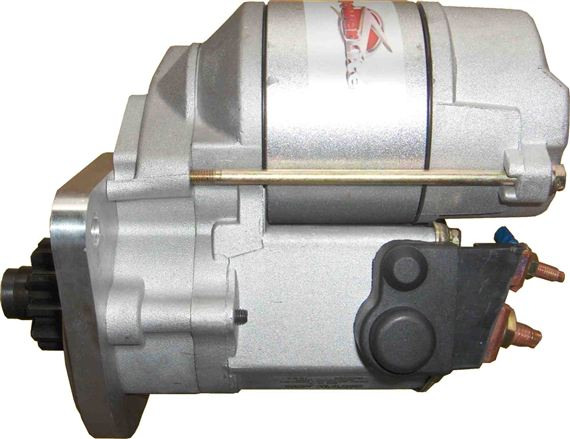 Hi torque starter motor land rover s 2 3 petrol for Hi torque starter motor