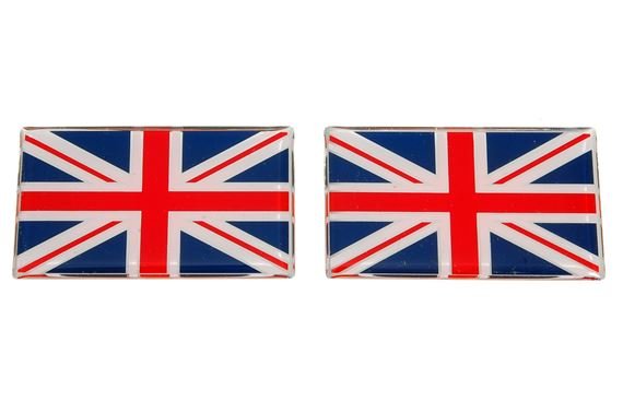 Discovery 2 Union Jack Badges
