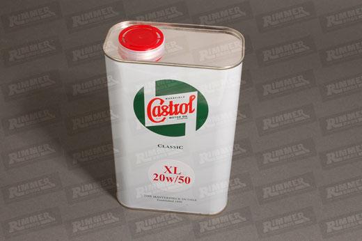 Castrol classic xl 20w 50 engine oil 1 litre for Classic motor oil 20w50