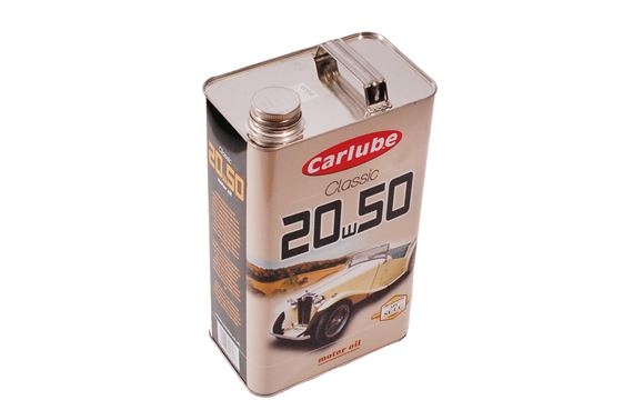Carlube classic 20w 50 engine oil litres rimmer bros for Classic motor oil 20w50