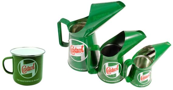 Castrol Oil Jugs and Mugs