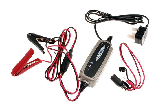 Triumph TR8 CTEK XS 0.8A Battery Charger Kit