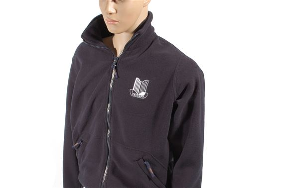 Fleece Jacket - Navy with Triumph Shield Logo - Medium (40 inch) - RX1493NAVYM