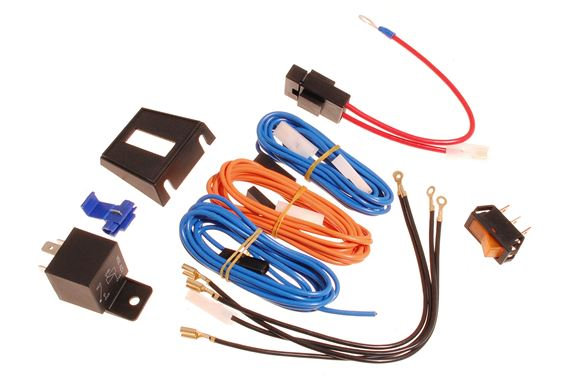Universal Accessory Lighting Wiring Kit - RX1512WK - Ring