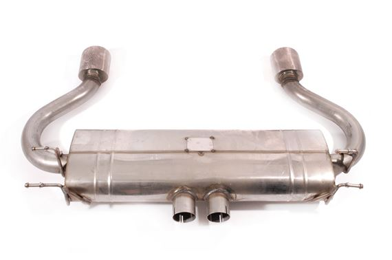 S/S Rear Pipes & Silencer - SSLR700T