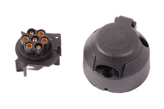 Trailer Socket (12N 7 pin) Plastic - STC4286P - Aftermarket