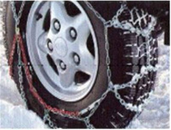 Snow Chains - 235/85 R16 and 7.5 R16 Tyres - Genuine Land Rover