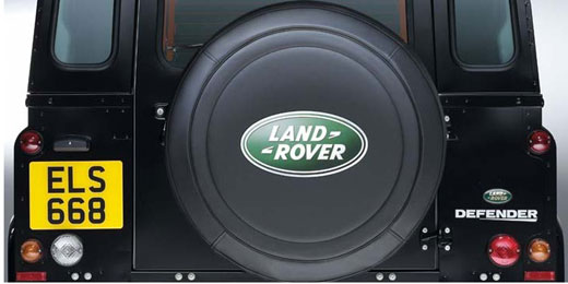 Defender 2007 on Spare Wheel Covers & Carriers