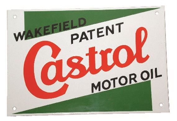 Castrol Classic - Large Enamel Sign