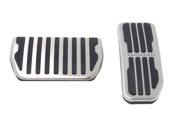 Sport Pedal Covers - Automatic - T2H3746 - Genuine Jaguar
