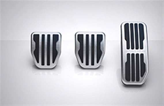 Sport Pedal Covers - Manual - T2H3747 - Genuine Jaguar