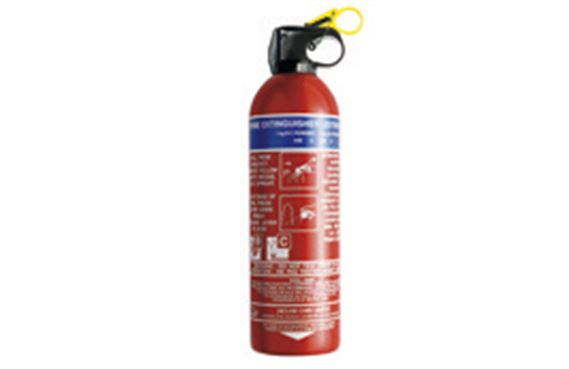 Fire Extinguisher - T2H7129 - Genuine Jaguar