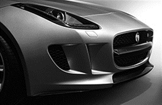 F-Type Front Splitter Blade Kit - Carbon Fibre - T2R12001 - Genuine Jaguar