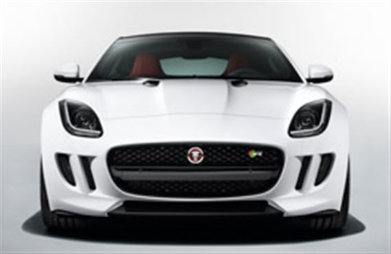 F-Type Grille - Gloss Black - Non-PDC - T2R13838 - Genuine Jaguar