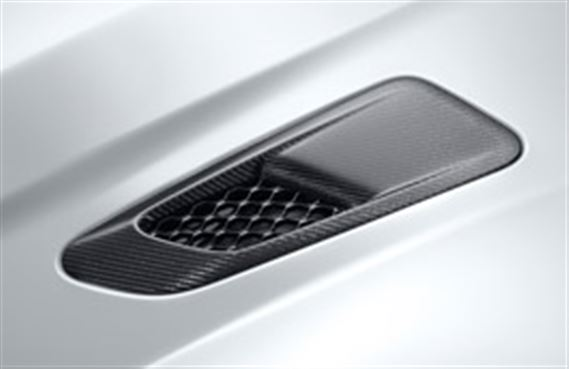 F-Type Bonnet Louvre - Carbon Fibre - RH - AWD - T2R16703 - Genuine Jaguar