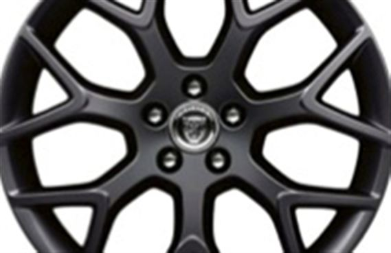 Rear Alloy Wheel - Single - Centrifuge 19 Inch Black - T2R4752 - Genuine Jaguar