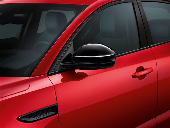 F-Pace Mirror Cover Kit - Gloss Black - T4A12007 - Genuine Jaguar