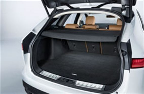 F-Pace Luggage Compartment Luxury Carpet Mat - T4A4217 - Genuine Jaguar