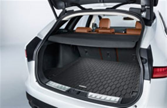Genuine Jaguar F Pace Luggage Compartment Rubber Mat