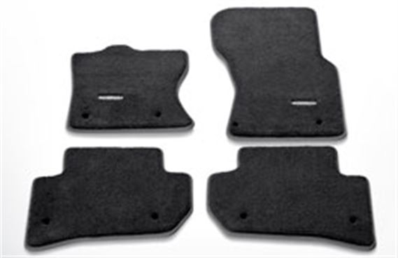 F-Pace Luxury Carpet Mats - Oyster - RHD - T4A5527AMT - Genuine