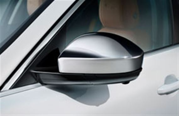 F-Pace Mirror Cover Kit - Chrome - T4A7131 - Genuine Jaguar