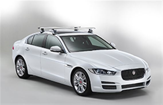 XE Roof Cross Bars - T4N4709 - Genuine Jaguar