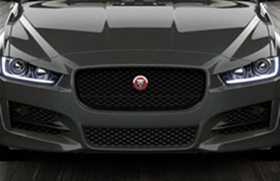 XE Grille - Gloss Black - Camera - T4N5871 - Genuine Jaguar