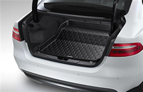 XE Luggage Compartment Rubber Liner - with Space Saver Spare Wheel - T4N7501 - Genuine Jaguar