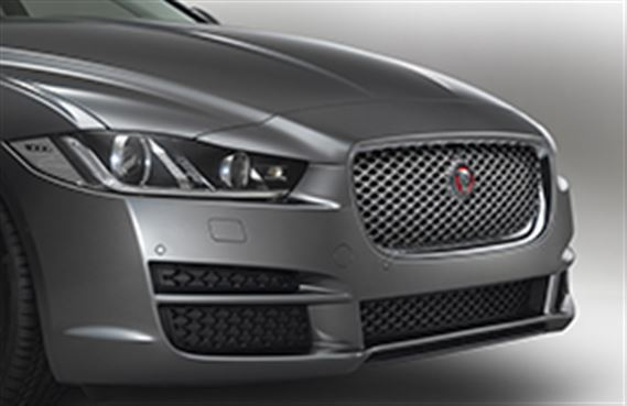 XE Grille - Chrome - ACC and Camera - T4N8031 - Genuine Jaguar
