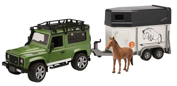 Land Rover Defender & Horse Box - Genuine Land Rover