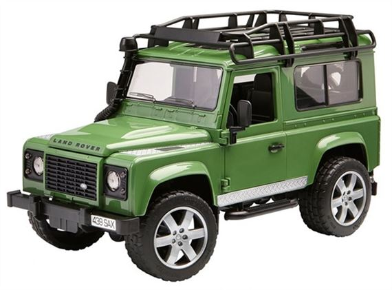 Land Rover Defender Station Wagon Toy Model - Genuine Land Rover