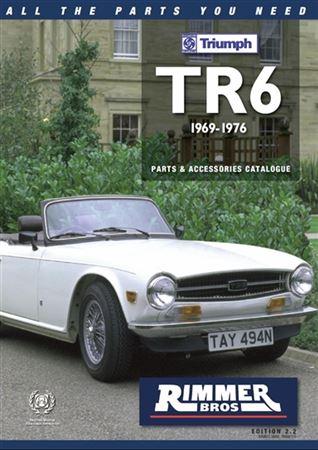 rimmer bros triumph tr6 catalogue edition 2 2 rimmer bros. Black Bedroom Furniture Sets. Home Design Ideas
