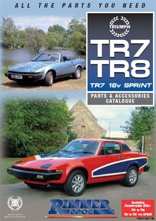 rimmer bros triumph tr7 tr8 catalogue edition 2 2 rimmer bros. Black Bedroom Furniture Sets. Home Design Ideas
