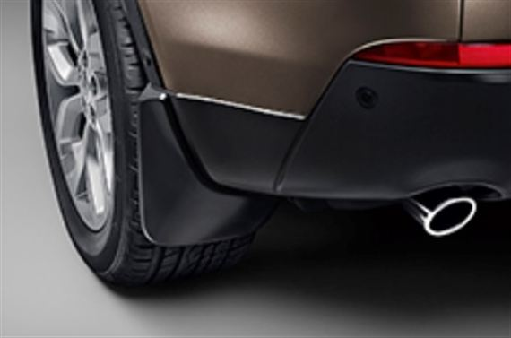 Rear Mudflaps - Vehicles without Spare Wheel - Genuine Land Rover