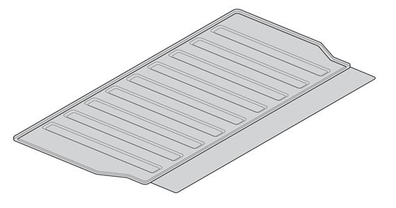 Genuine Land Rover Loadspace Mat Extension Forward