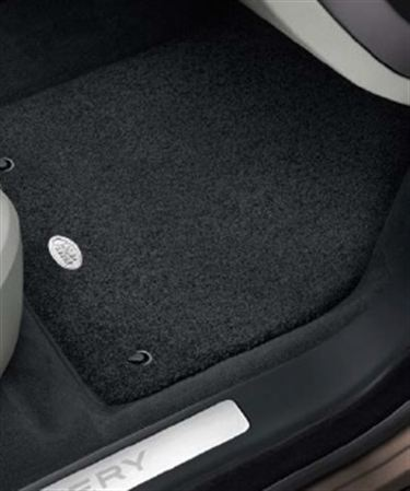 Premium Carpet Mats - Lunar - RHD - Genuine Land Rover