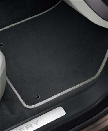 Premium Carpet Mats - Ebony - RHD - Genuine Land Rover
