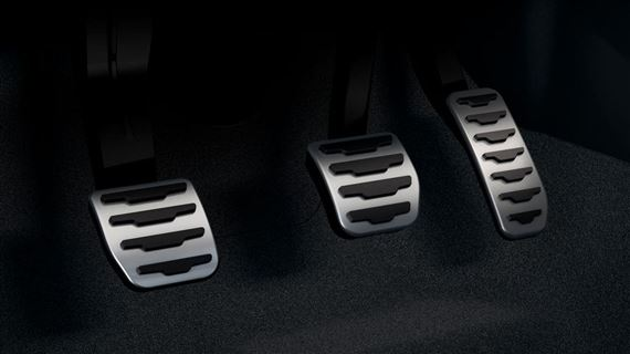 Pedal Pad Kit - Noble - Manual Transmission - M66 AWD - Genuine Land Rover