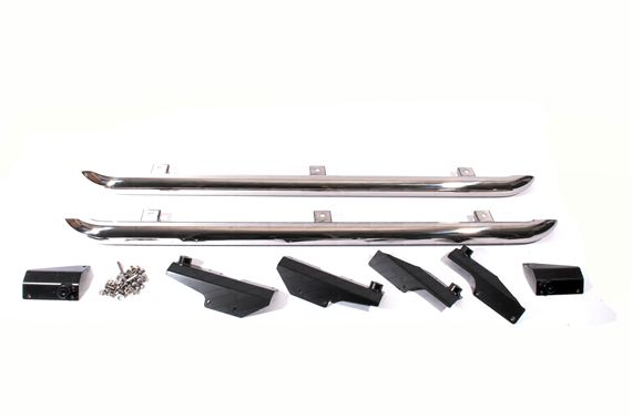 Deployed Side Steps For Range Rover Genuine Accessory: Discovery 3 & 4 Side Protection Tubes