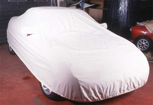 MGF/TF Indoor Car Cover - Calico Cotton - VUS100070PC - Aftermarket
