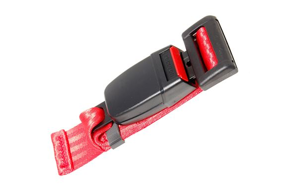 Securon Seat Belt Extender - Red - XKC2528EXTRED