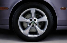 Alloy Wheel - Single - Herakles - 17 x 7.5 - XR843330 - Genuine Jaguar