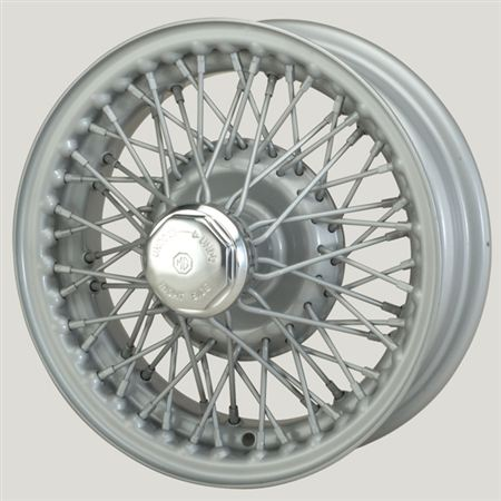 MWS Centre Lock Tubed Type Wire Wheel - Painted - 60 Spoke - 4 x 13 - XW458S