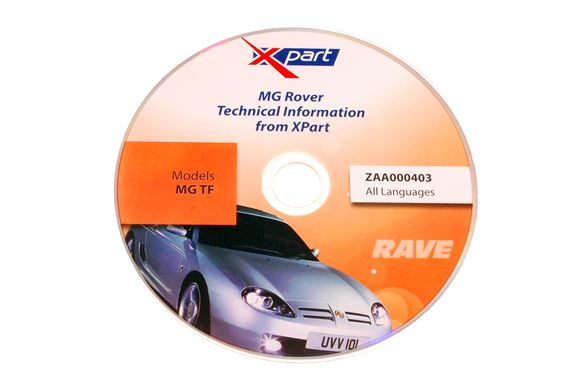Rave Disc - MG TF - ZAA000403