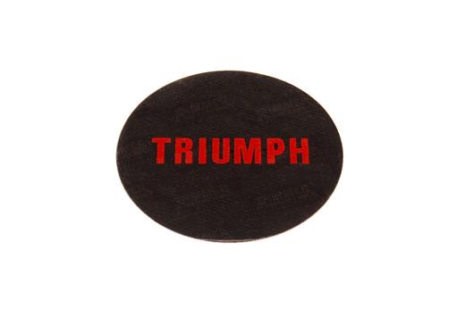 wheel trim centre badge triumph at. Black Bedroom Furniture Sets. Home Design Ideas